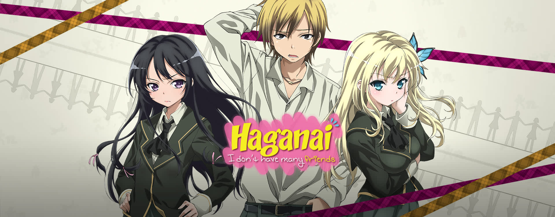 Watch Haganai Episodes Sub & Dub | Comedy, Fan Service Anime