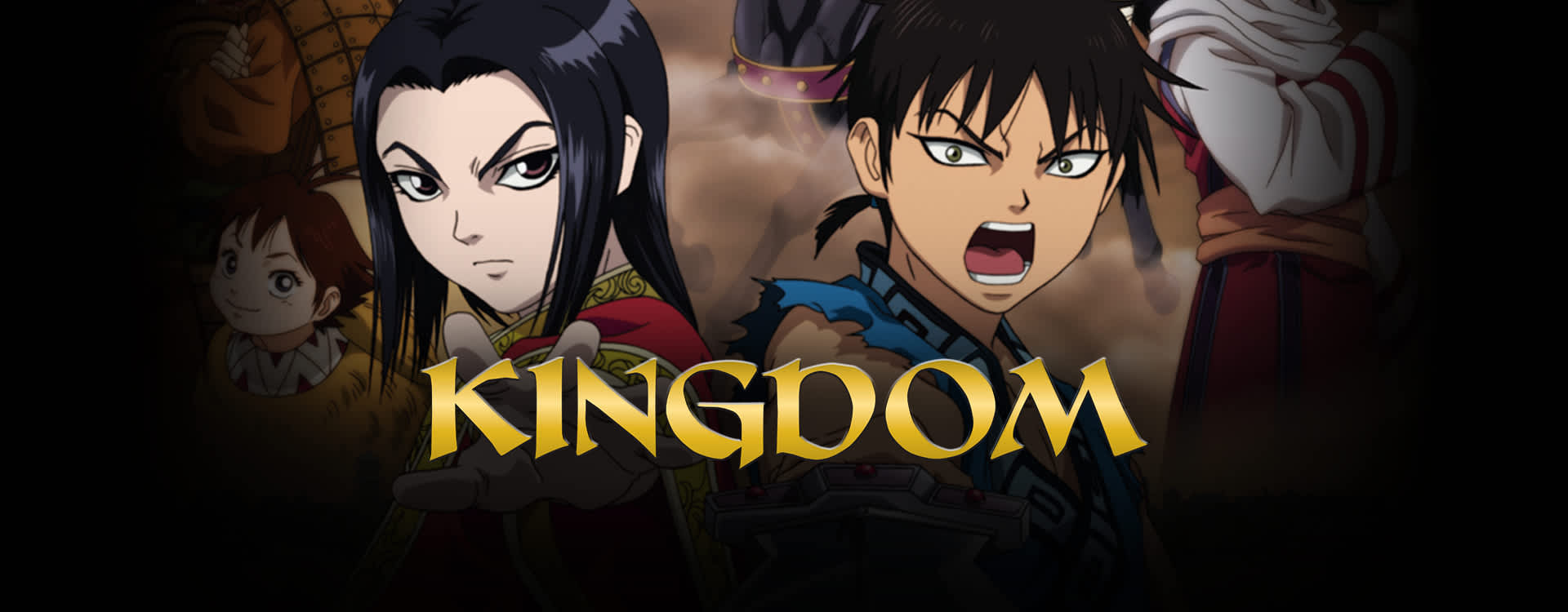 Watch Kingdom Episodes Sub & Dub | Action/Adventure, Fantasy Anime