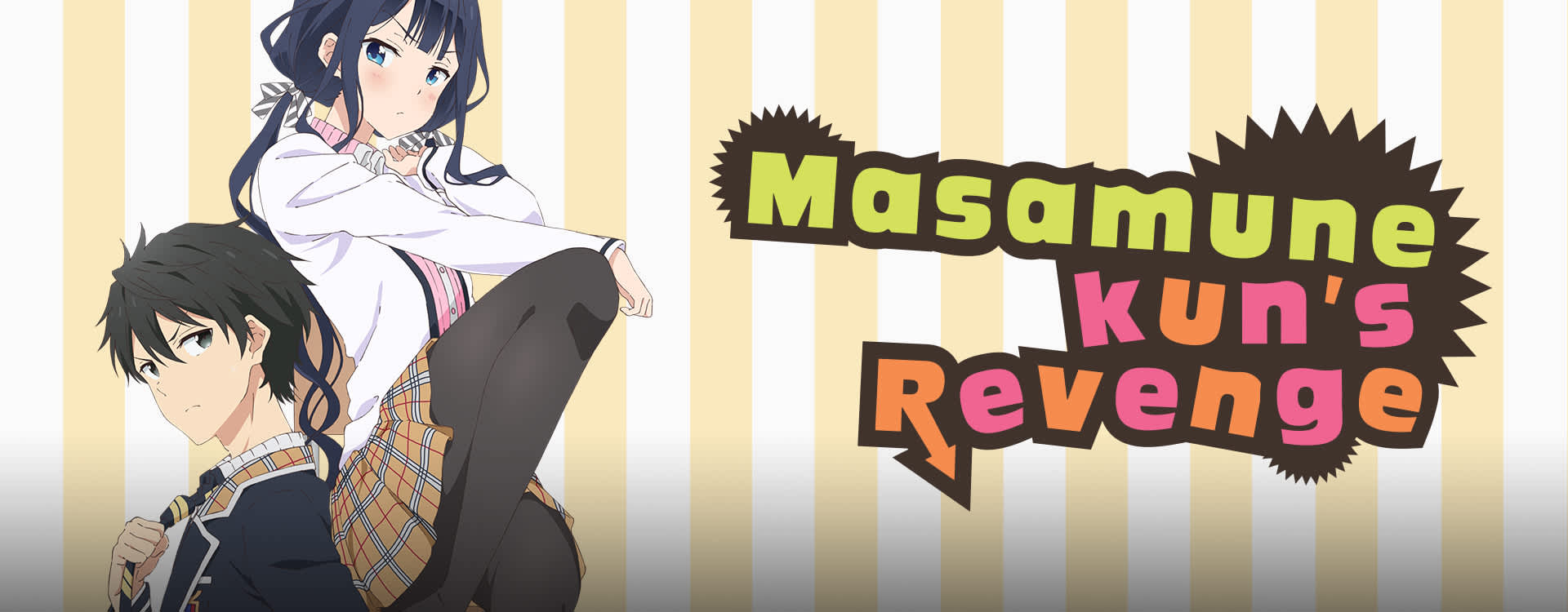 Watch Masamune Kun S Revenge Dub Comedy Romance Anime Funimation Images, Photos, Reviews
