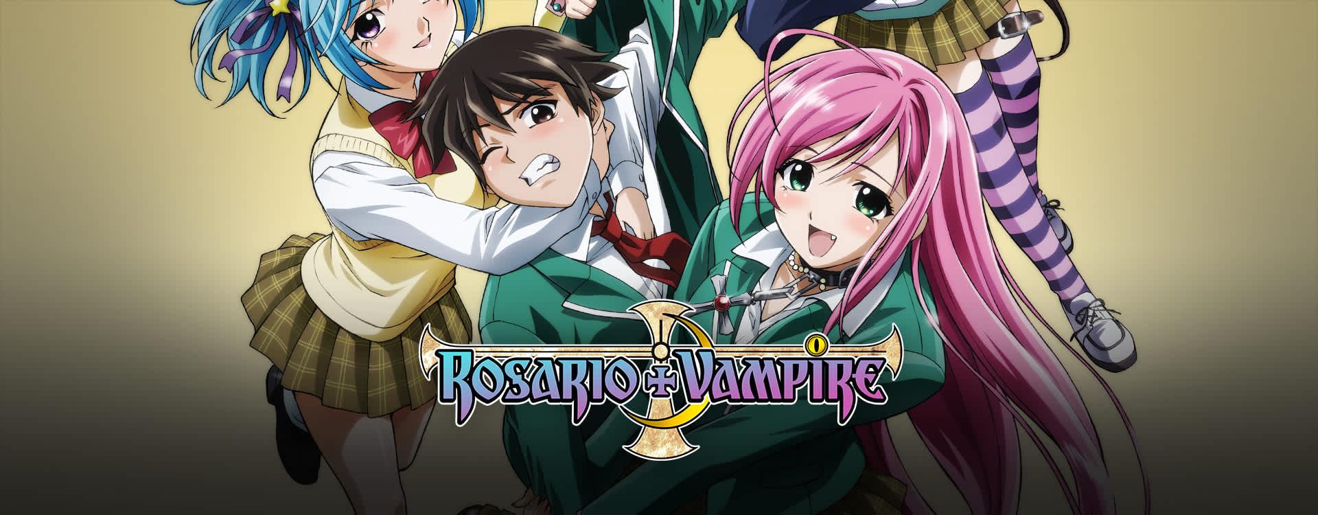 Anime De Rosario Vampire watch rosario + vampire episodes sub & dub | fan service