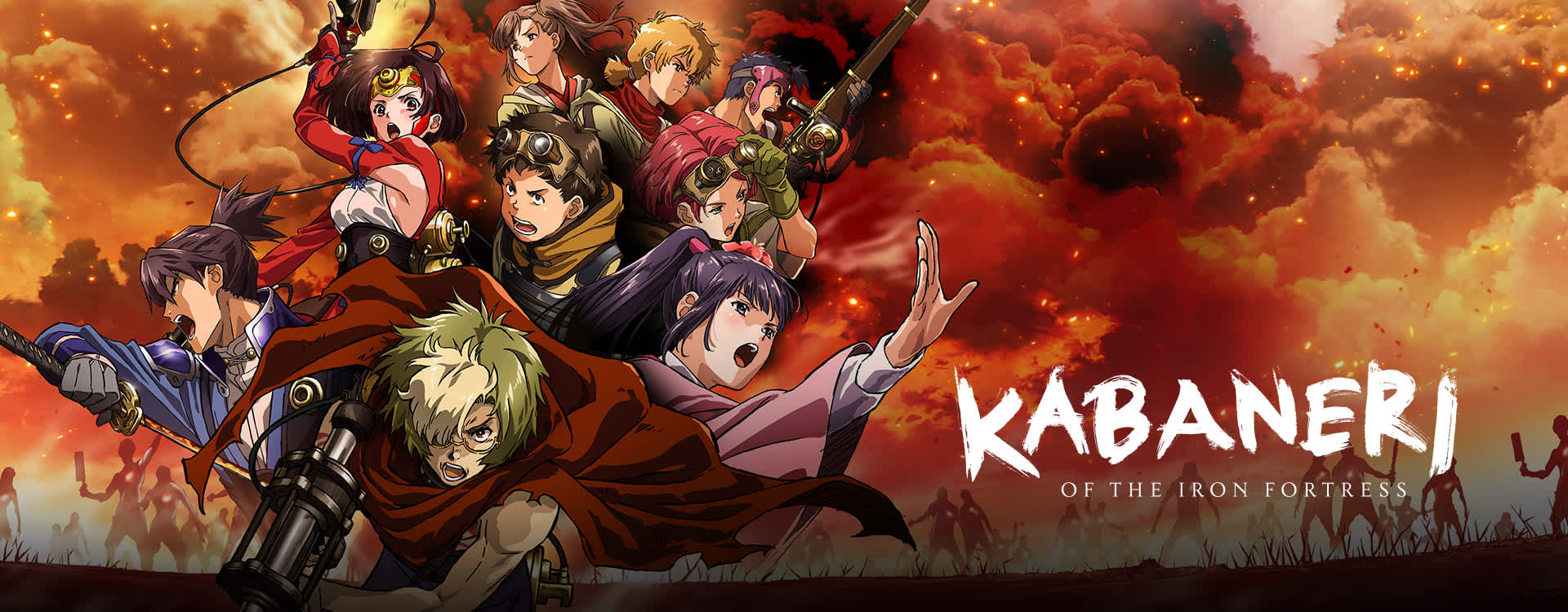 Image result for kabaneri of the iron fortress