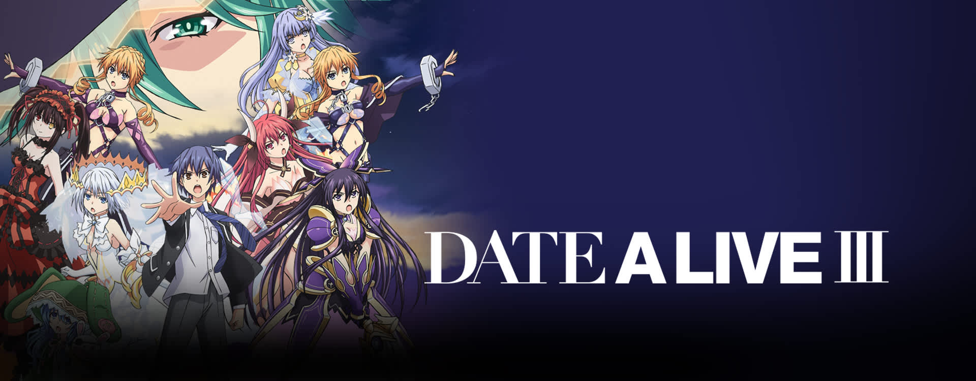 Watch Date A Live Episodes Sub & Dub | Comedy, Fan Service