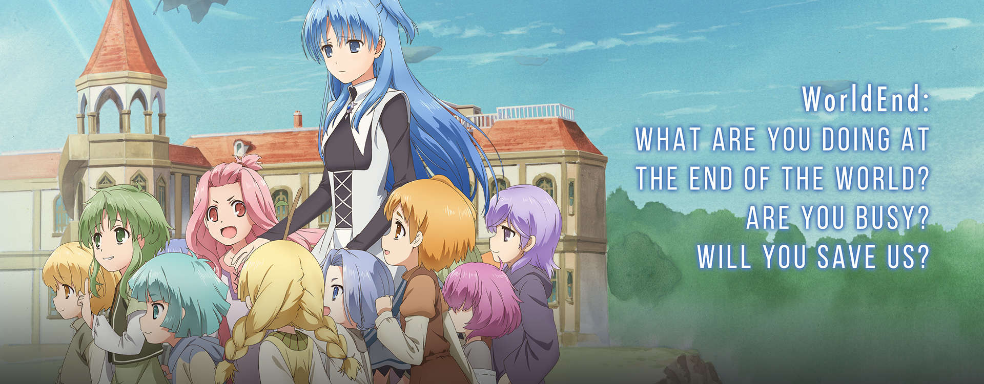 Stream & Watch Worldend: What Are You Doing At The End Of ...
