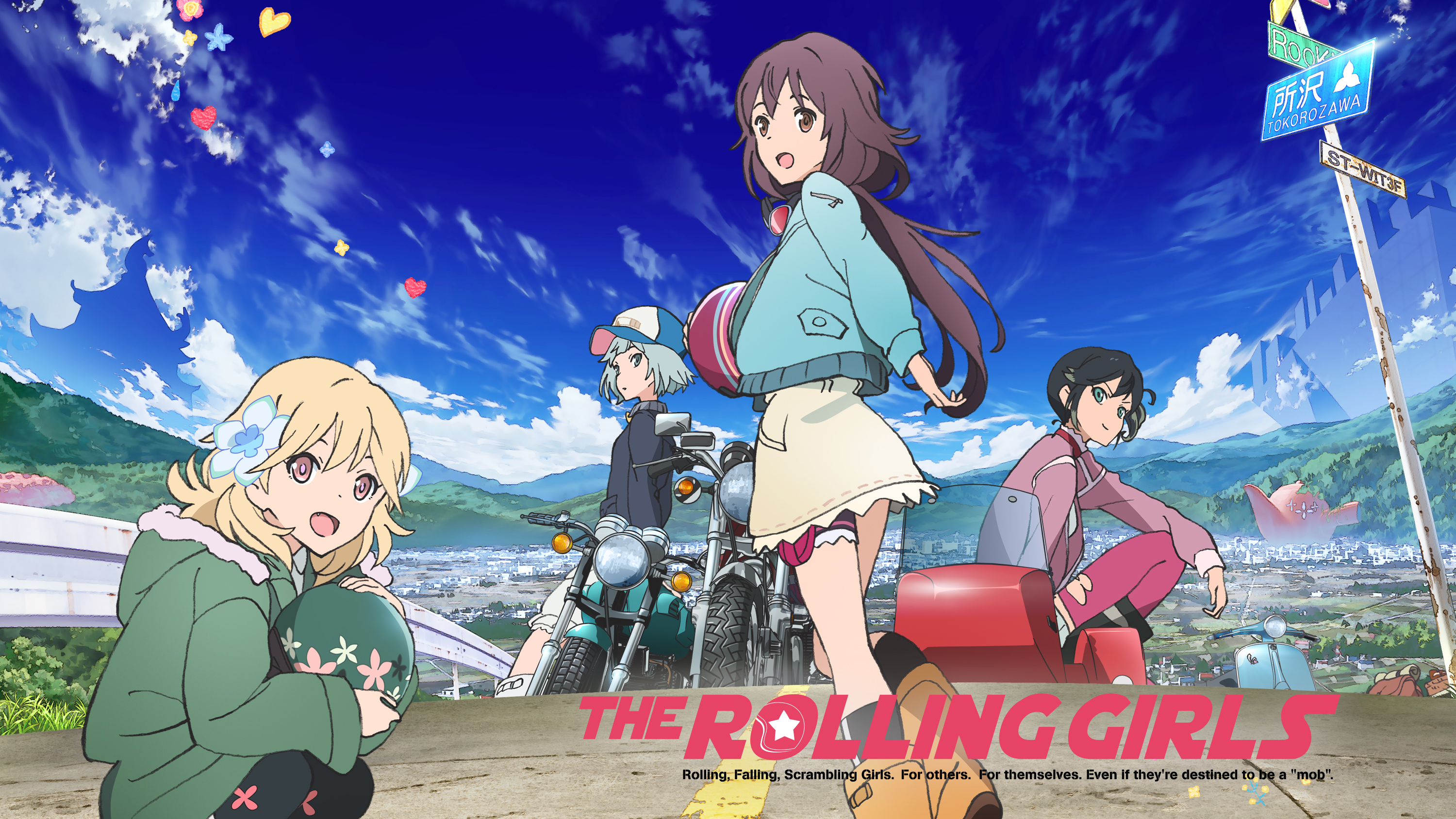 Watch The Rolling Girls Episodes Sub & Dub  Action/Adventure
