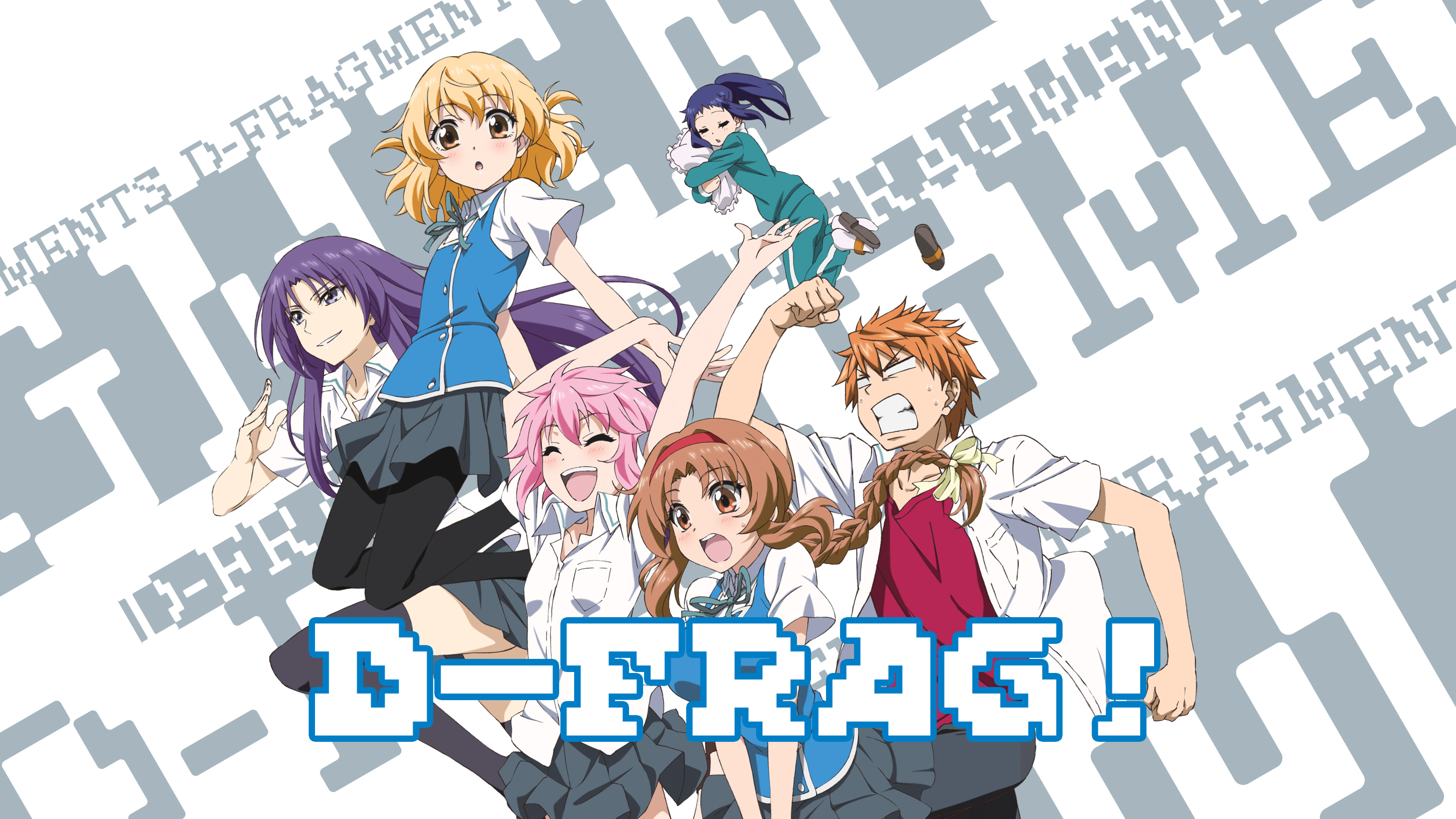 stream watch d frag episodes online sub dub