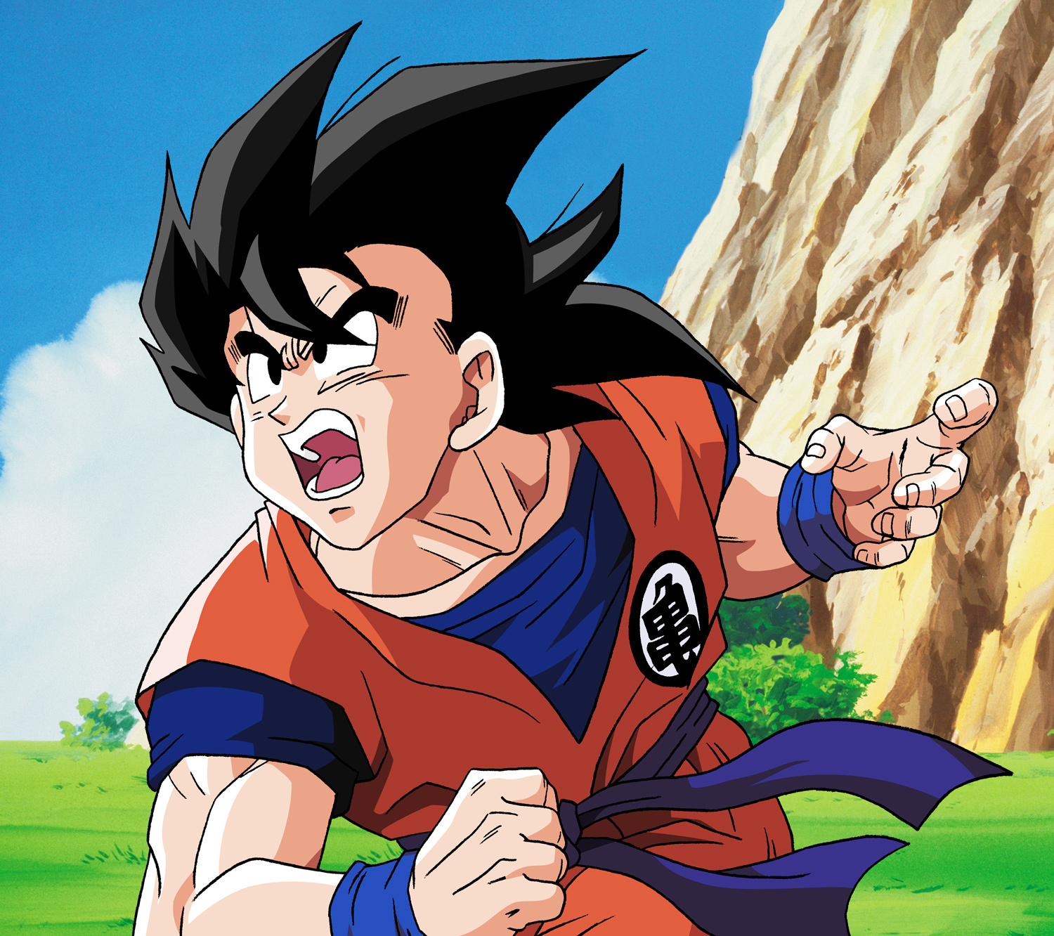 Dragon Ball Z coloring pages on fo