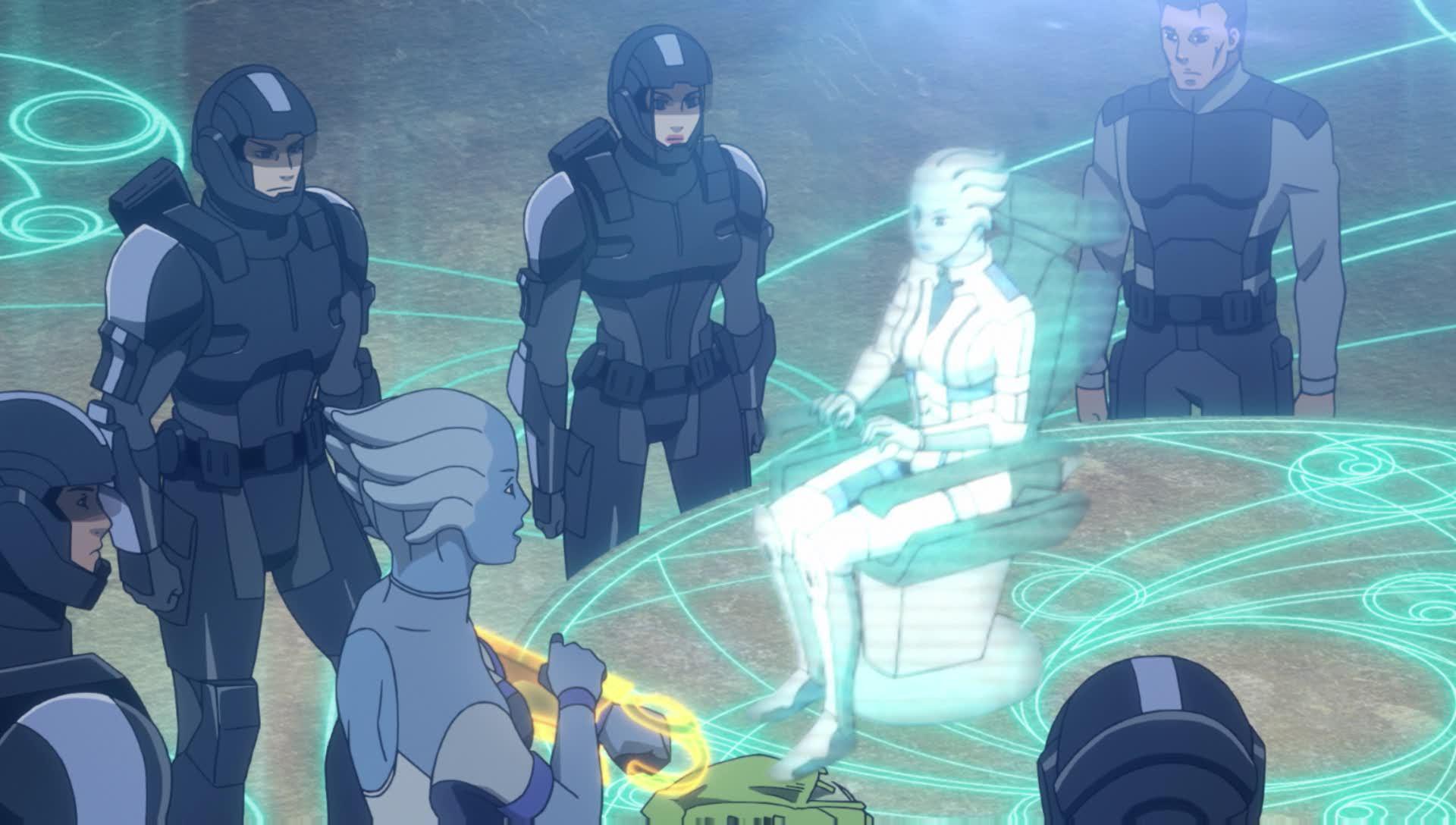 Watch Mass Effect Season 1 Movie 1 Dub Anime Uncut Funimation