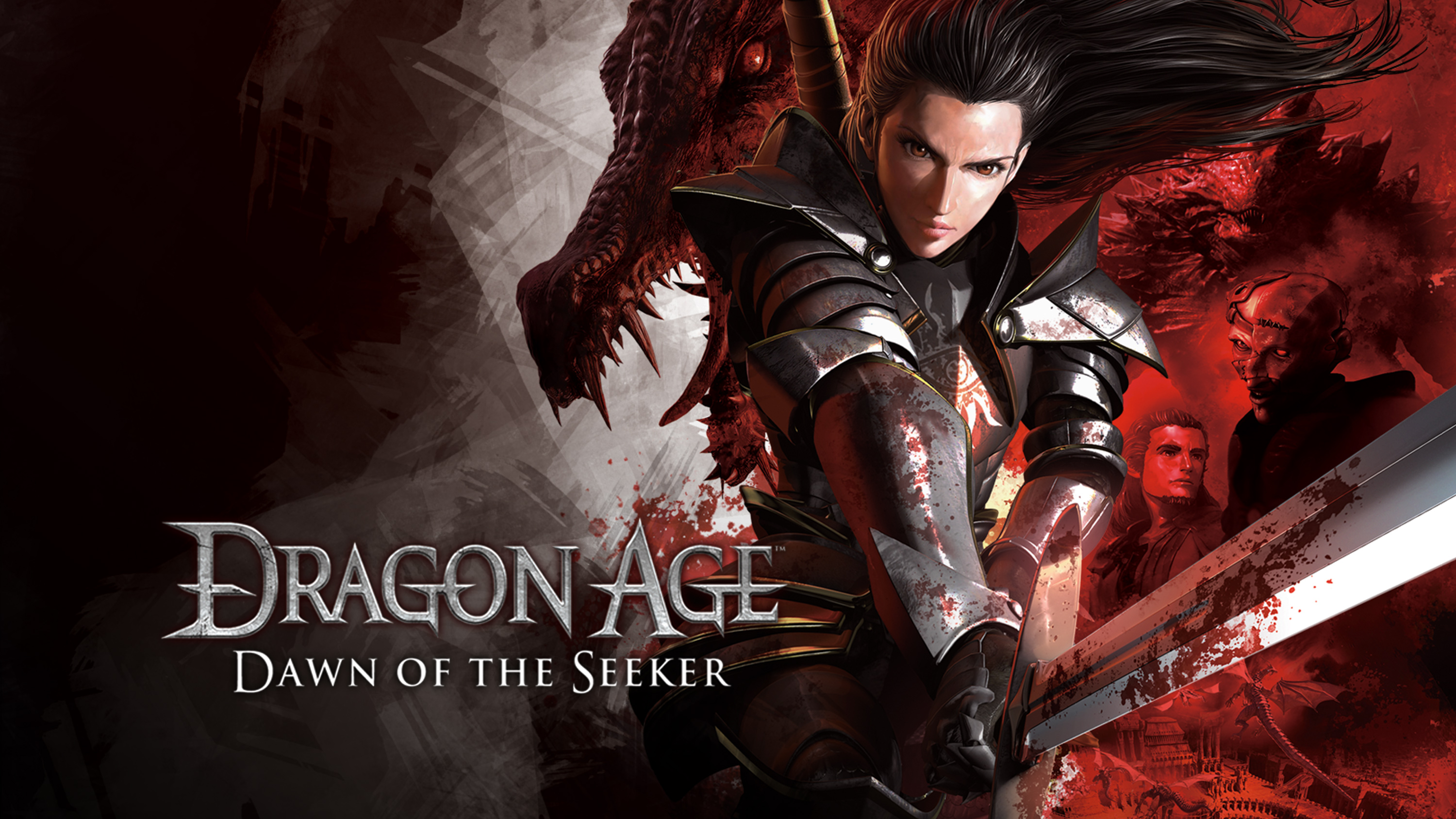 Watch Dragon Age Dawn Of The Seeker Movie Sub Dub Action Adventure Fantasy Anime Funimation