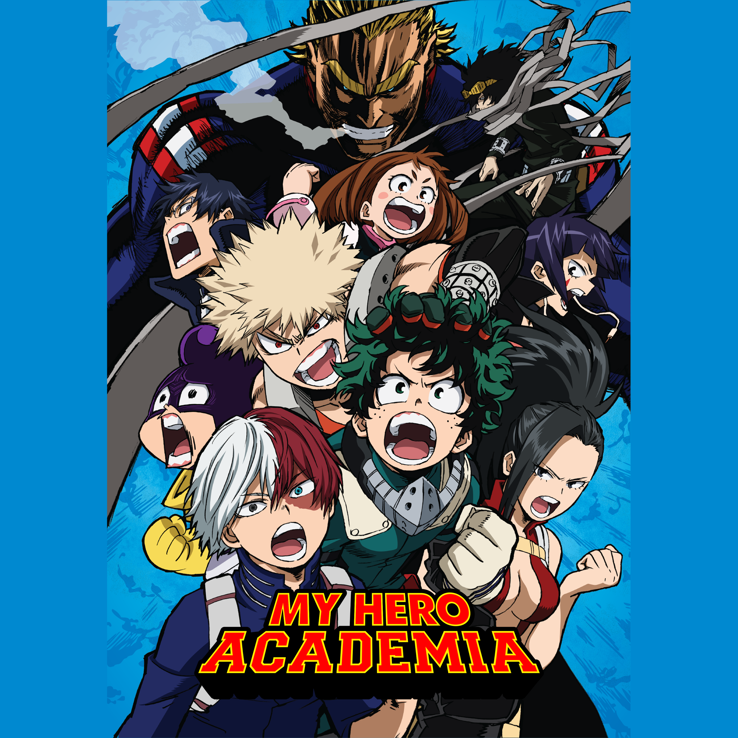 Watch My Hero Academia Sub Dub Action Adventure Shounen Anime Funimation