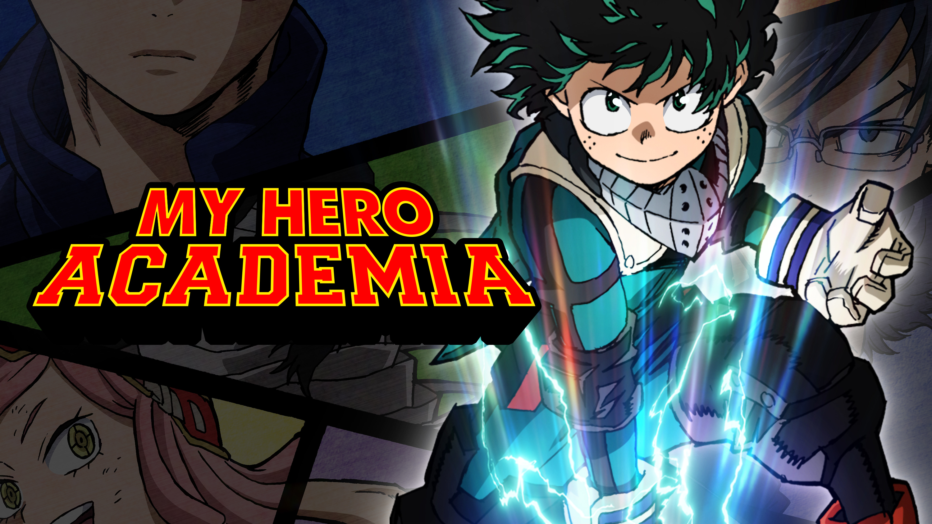 Watch my hero academia episodes sub dub action adventure shounen anime funimation