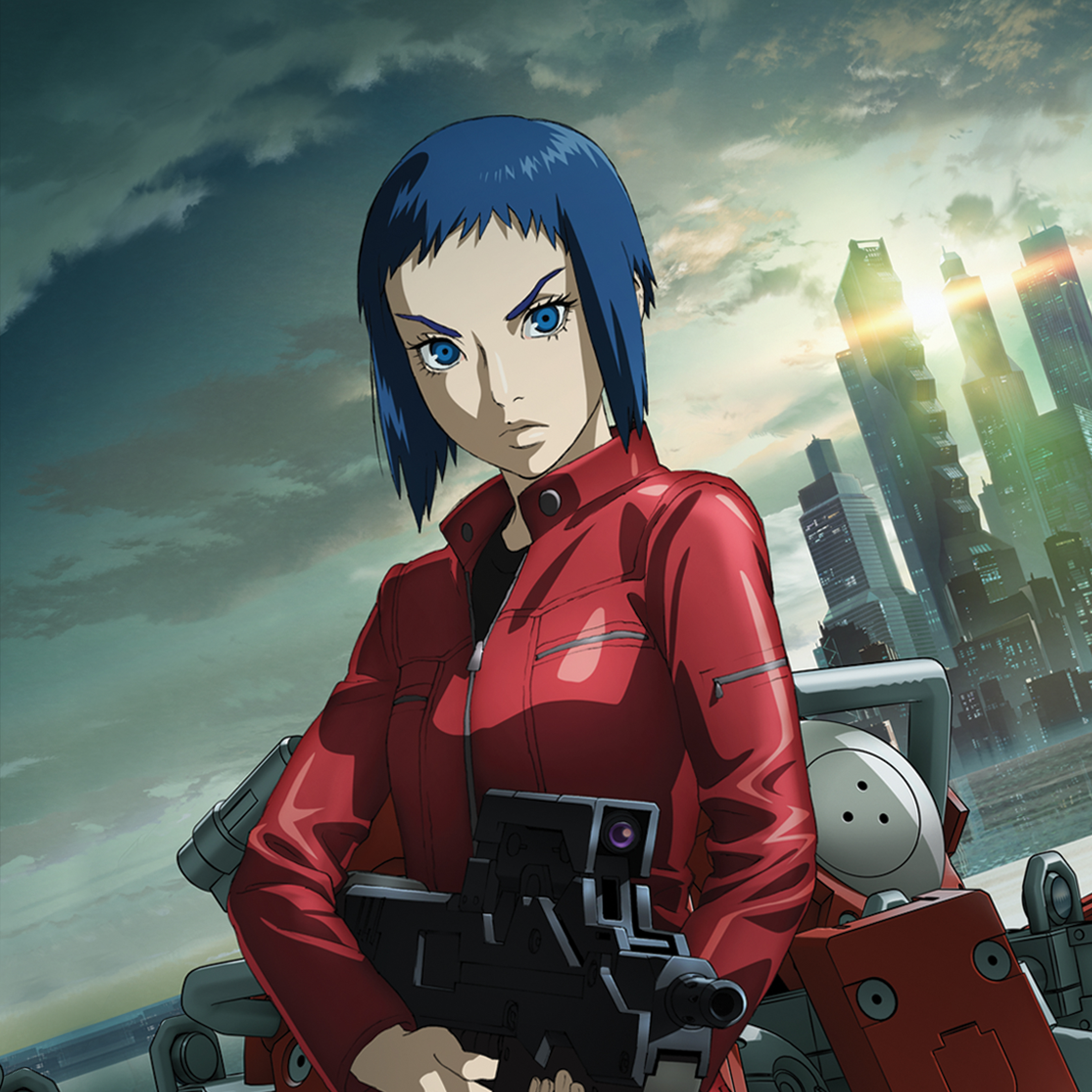 Watch Ghost In The Shell Arise Sub Dub Action Adventure Sci Fi Anime Funimation