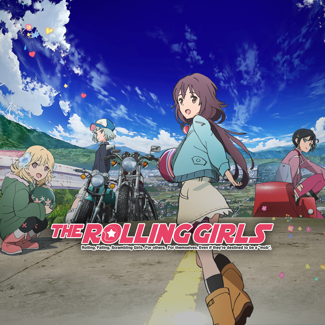 Watch the rolling girls episodes sub dub action adventure comedy anime funimation