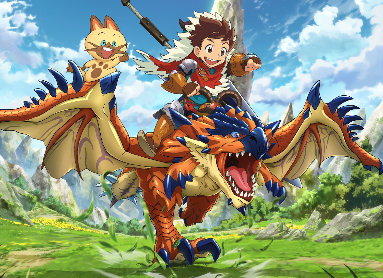 Watch Monster Hunter Stories Ride On Sub Dub Action Adventure