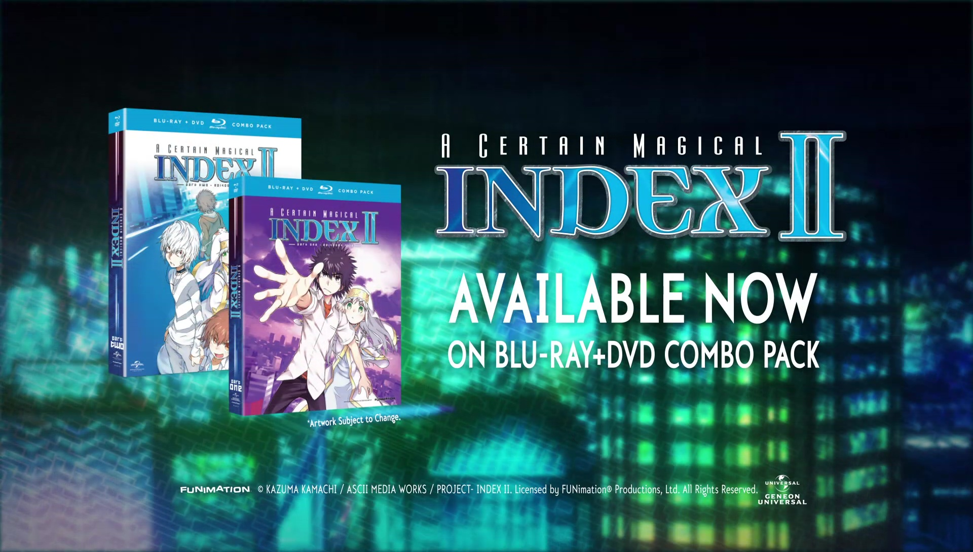 Watch A Certain Magical Index Episodes Sub & Dub | Action