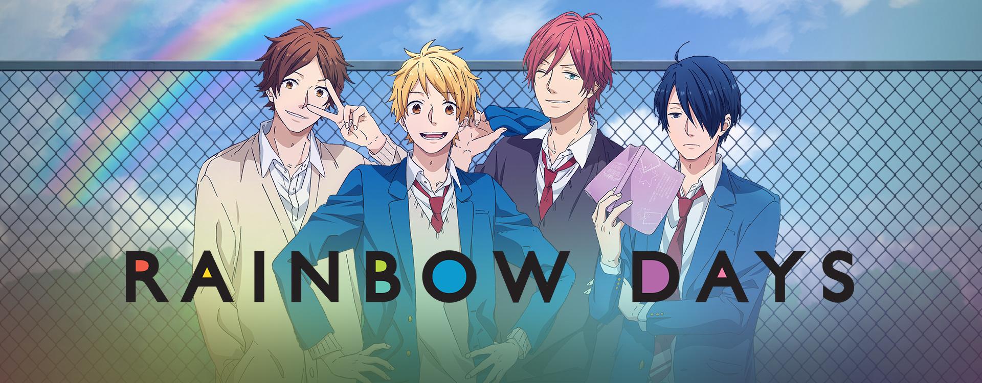 Watch Rainbow Days Episodes Sub & Dub | Comedy, Romance, Slice of