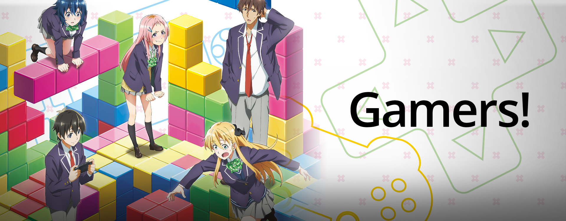 Watch Gamers Episodes Sub Dub Comedy Romance Slice Of Life