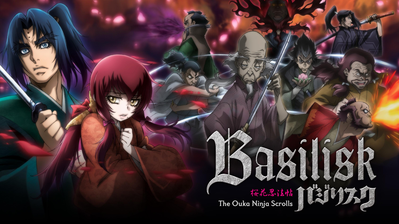 Watch Basilisk The Ouka Ninja Scrolls Episodes Sub Dub Action Adventure Drama Anime Funimation