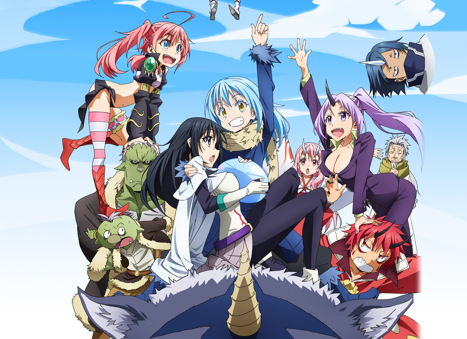 Watch That Time I Got Reincarnated As A Slime Episodes Dub
