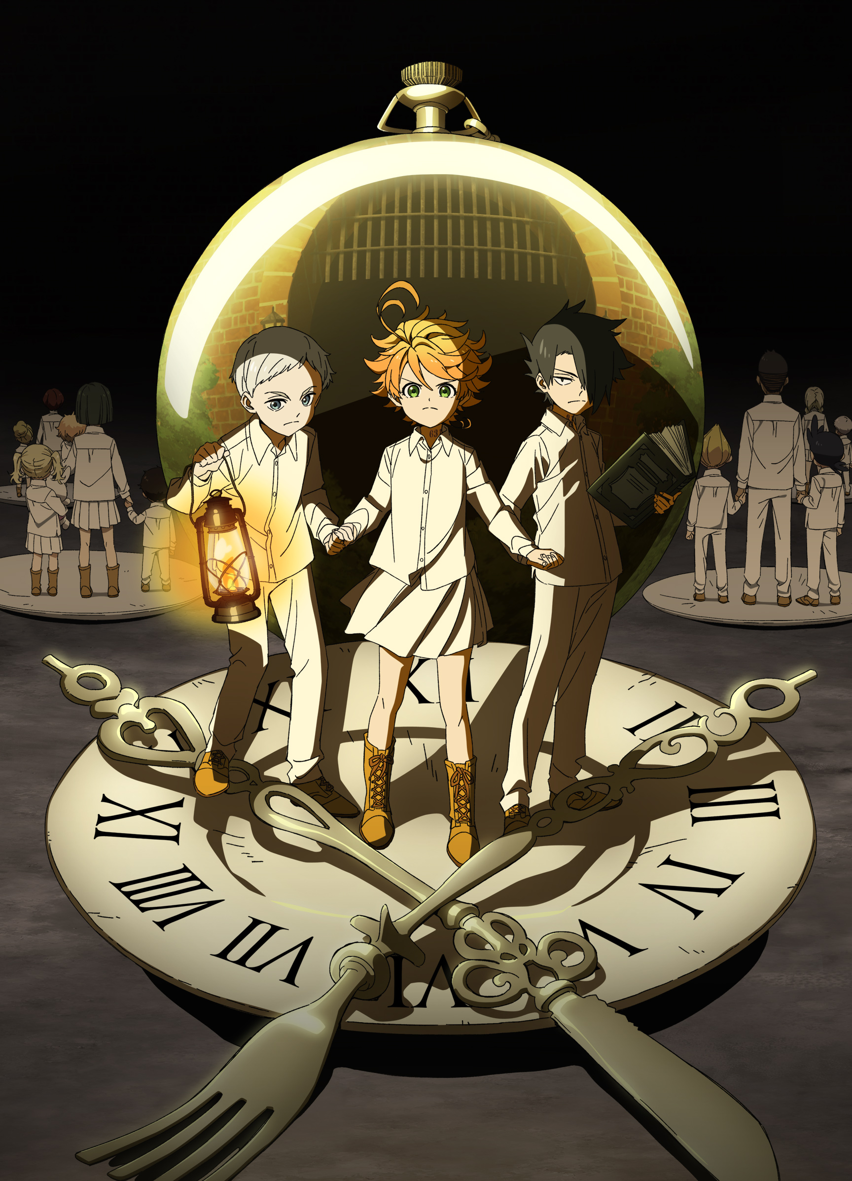Watch The Promised Neverland Episodes Sub | Horror, Shounen Anime