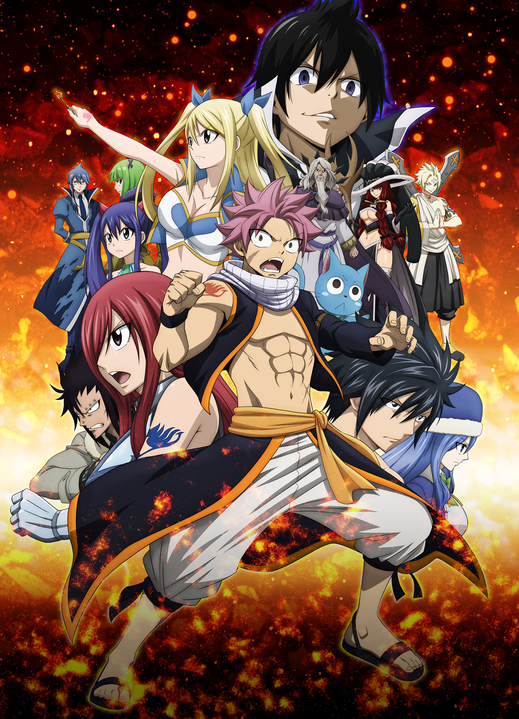 Watch Fairy Tail Episodes Sub & Dub | Action/Adventure