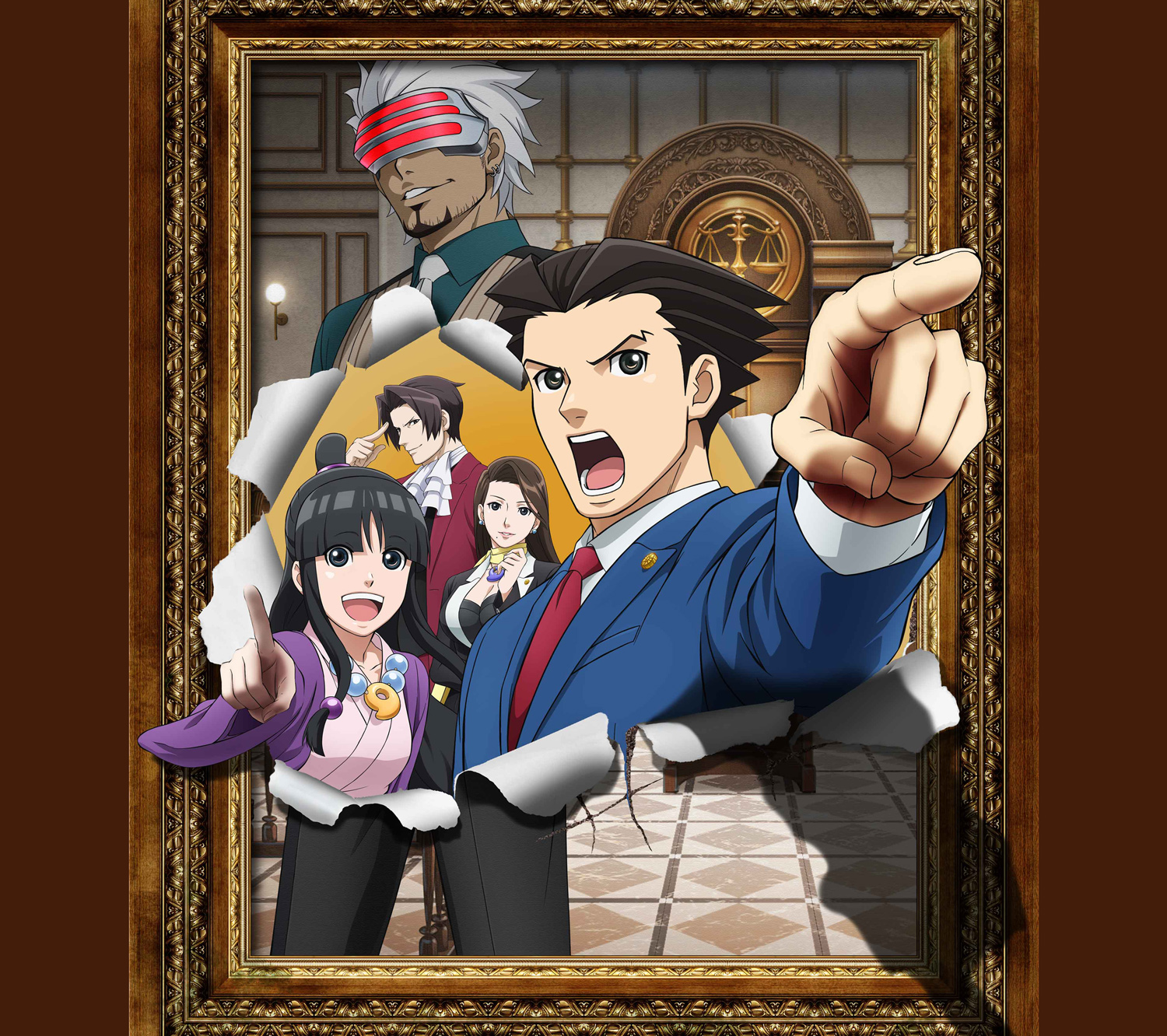 Watch Ace Attorney Episodes Sub & Dub | Comedy, Drama Anime