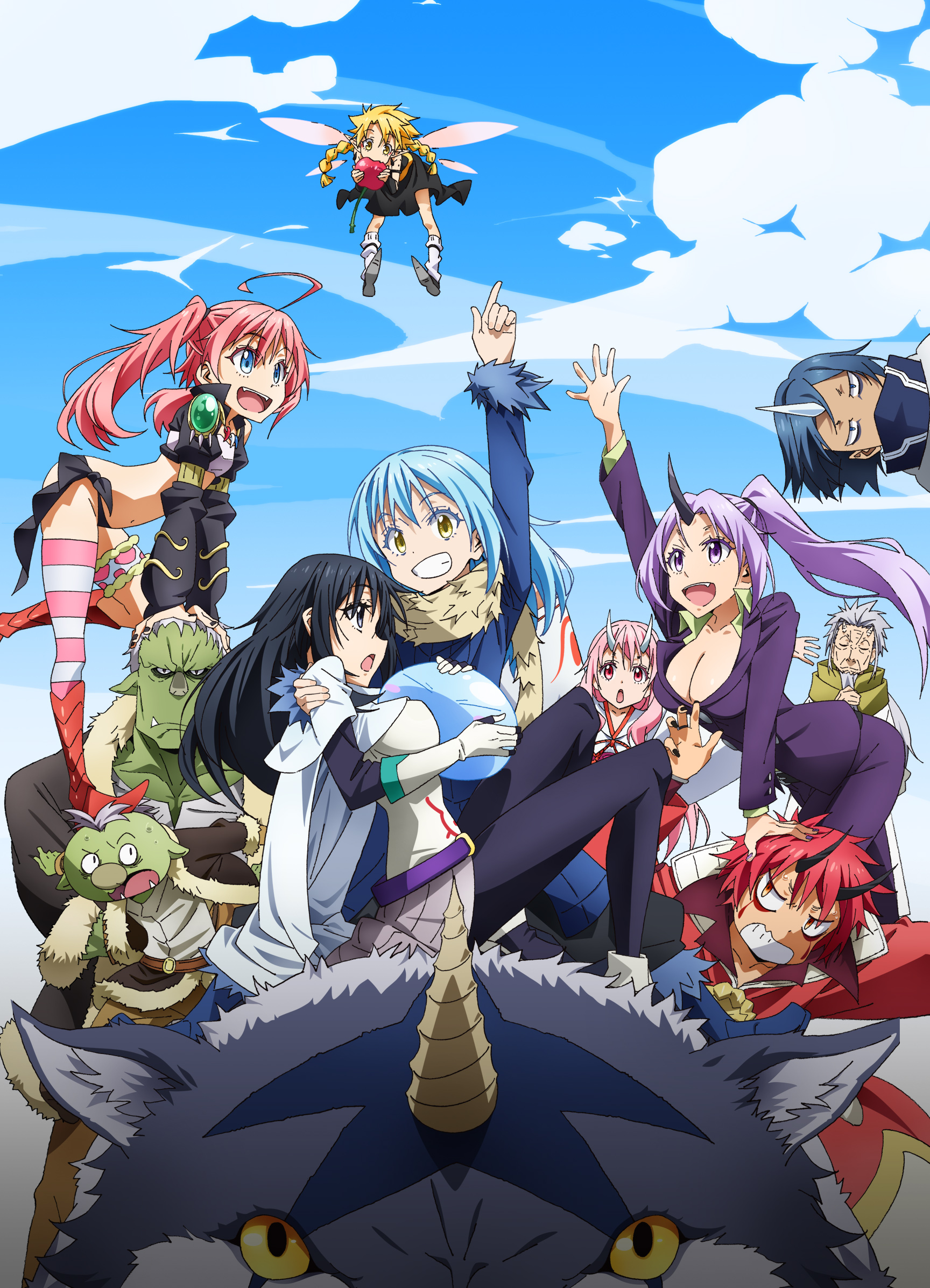 the time i got reincarnated as a slime