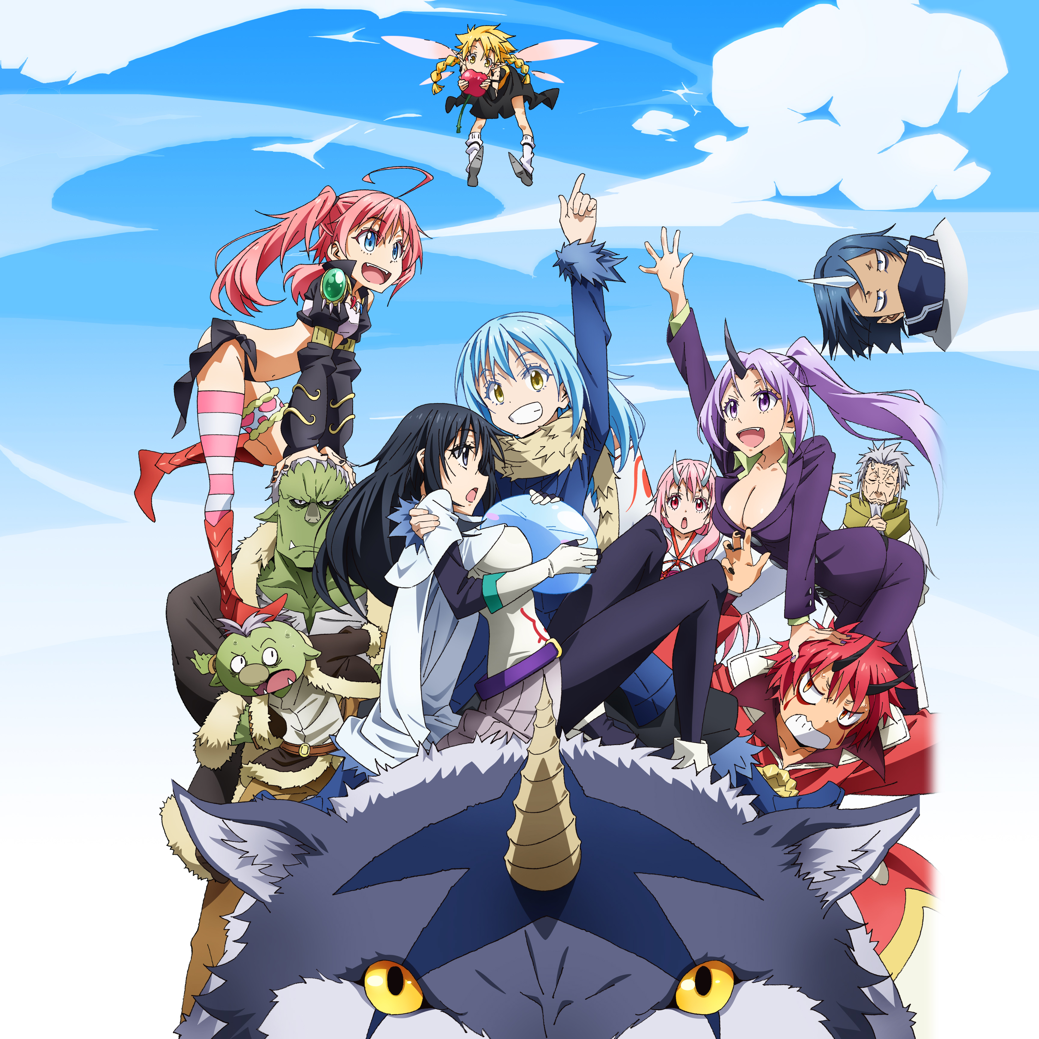 Watch That Time I Got Reincarnated As A Slime Sub & Dub | Action/Adventure,  Comedy, Drama, Fantasy Anime | Funimation