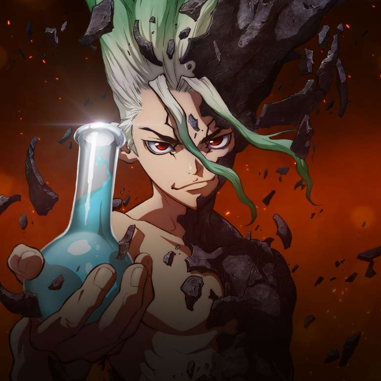 Watch Dr. Stone Dub | Action/Adventure, Sci Fi, Shounen Anime ...