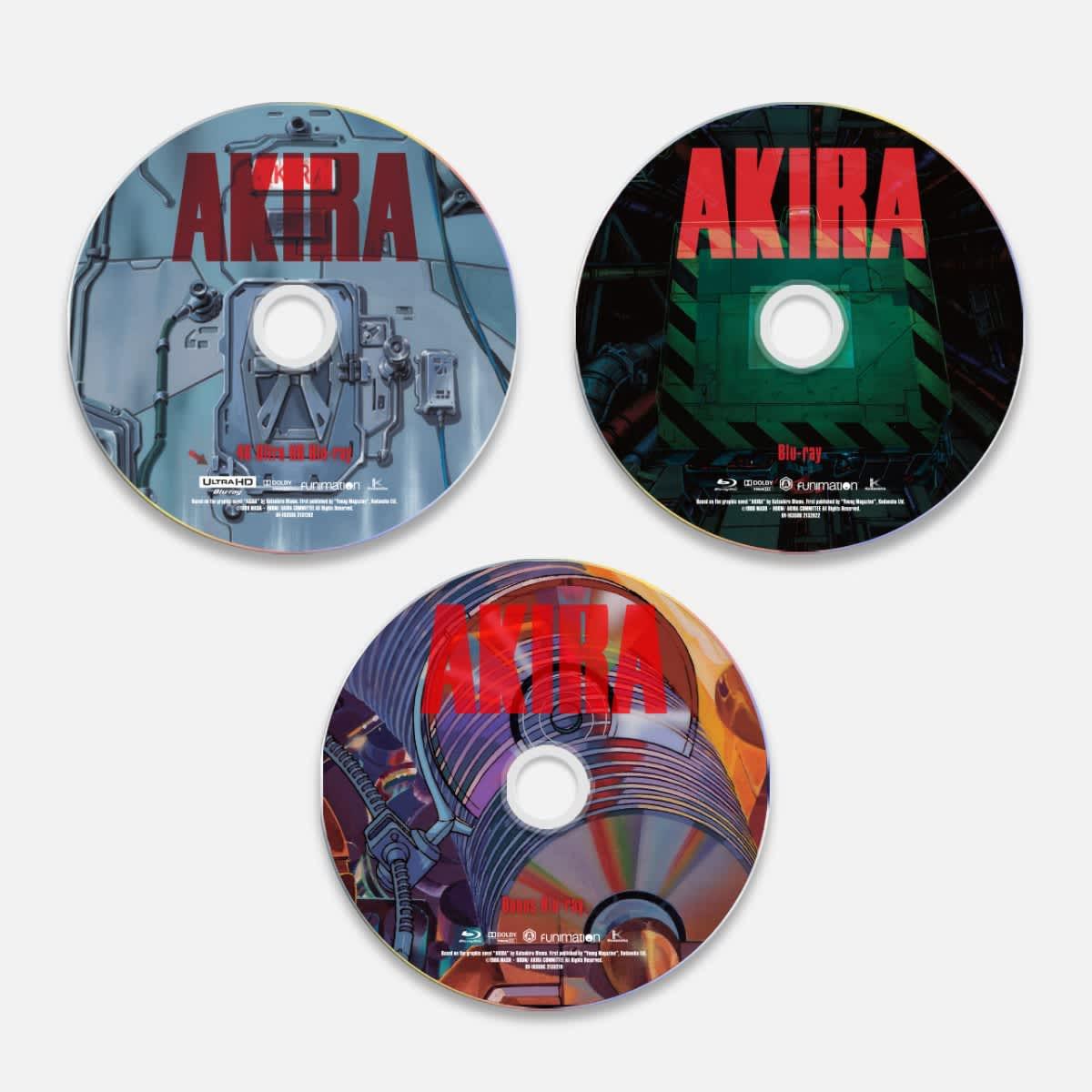 Shop Akira Movie 4k Bd Le Funimation