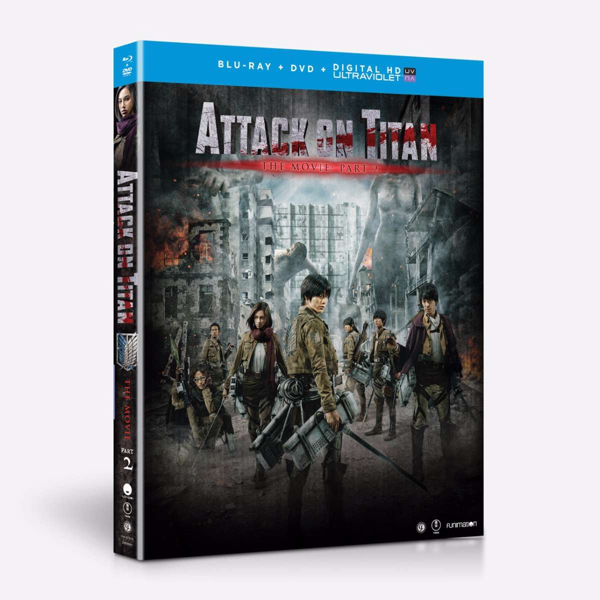 Live Action Movie - Part 2 - BD/DVD Combo + UV home-video