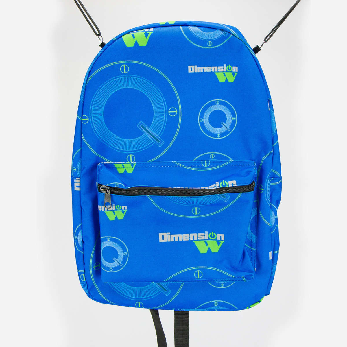 Blue Coil Backpack accessories