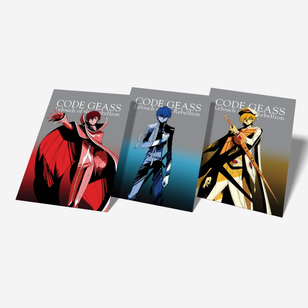 Code Geass - Lelouch of the Rebellion - Trilogy Movie Box Set - I:  Initiation + II: Transgression + III: Glorification - BD (SUB ONLY) |  Home-Video