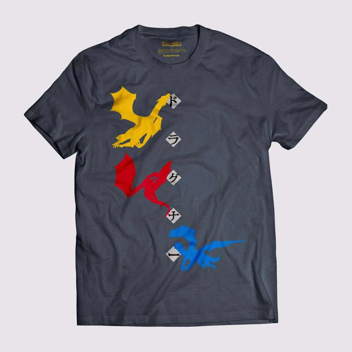 T-shirt - Triple Dragon apparel