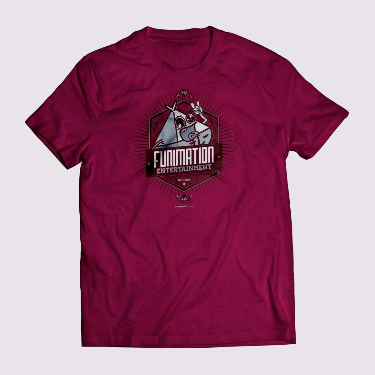 T-shirt - Maroon apparel