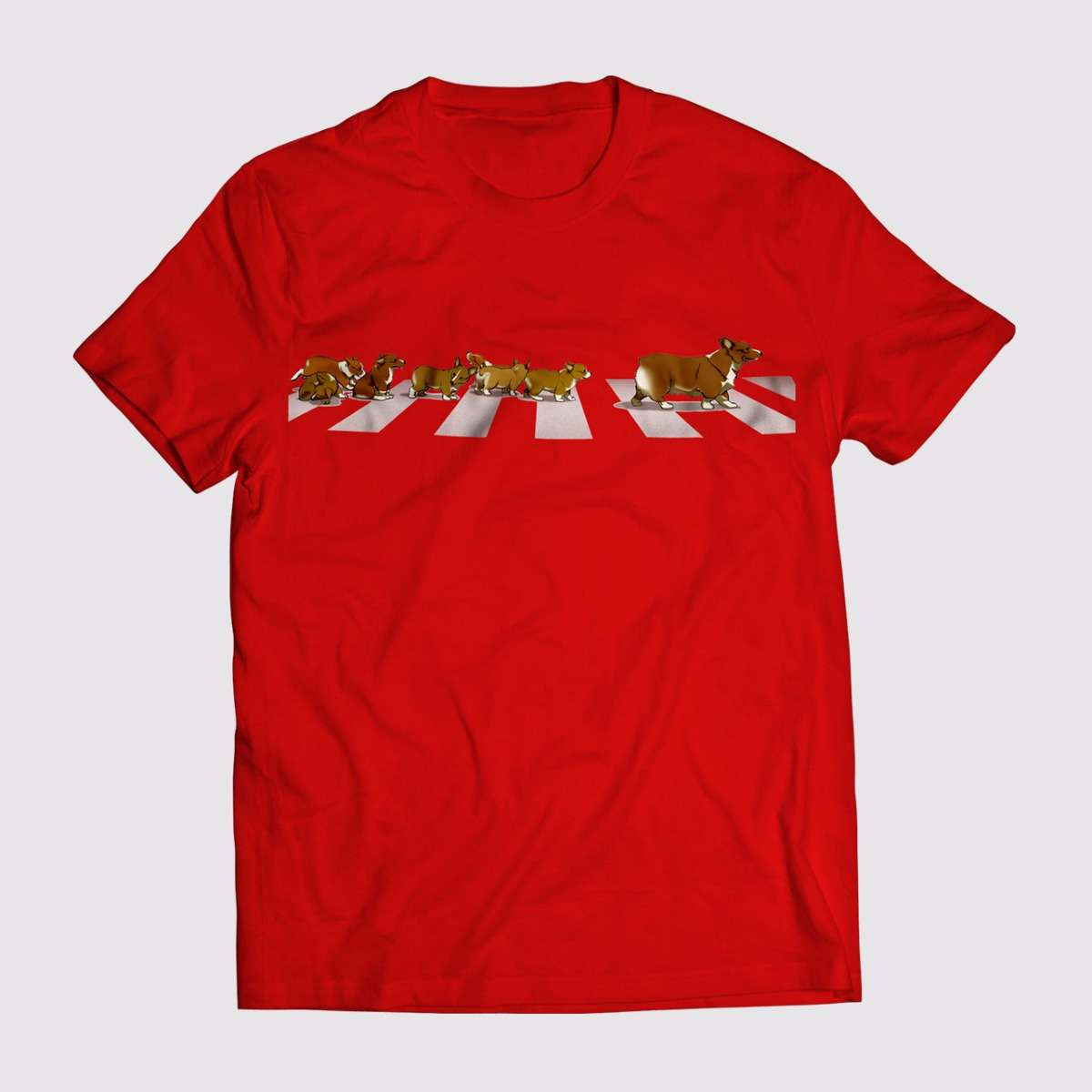 T-Shirt - Red Apparel