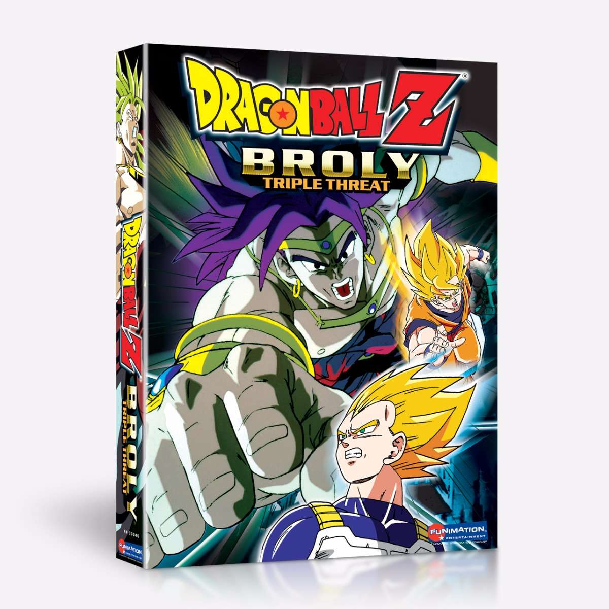 Broly Triple Threat home-video