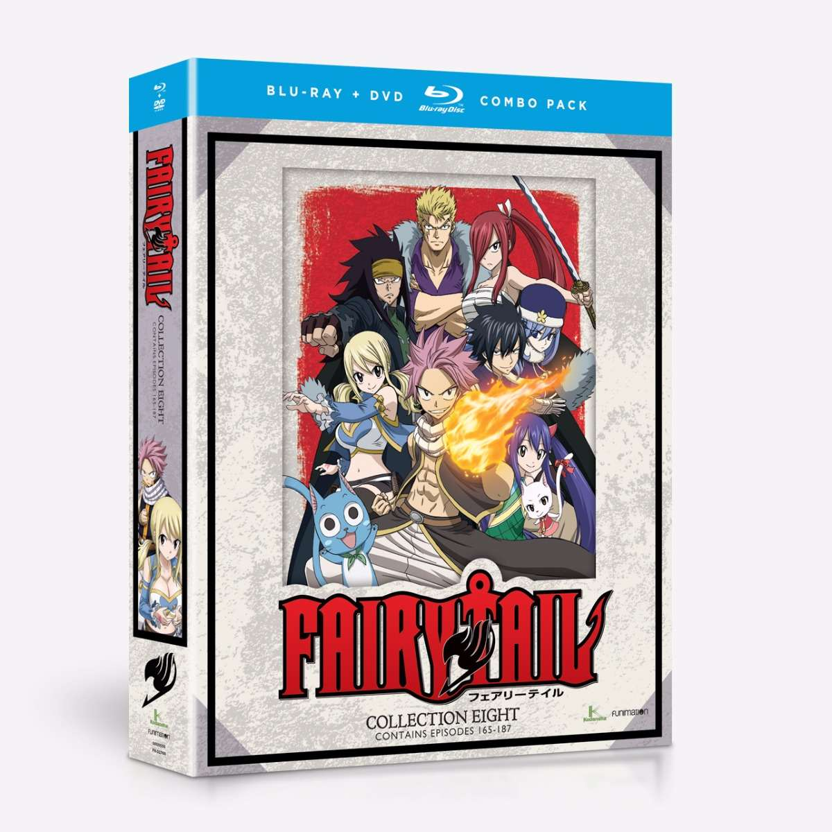 Collection Eight - Blu-ray/DVD Combo home-video