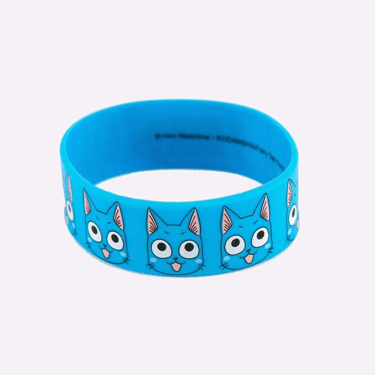 Happy PVC Wristband accessories