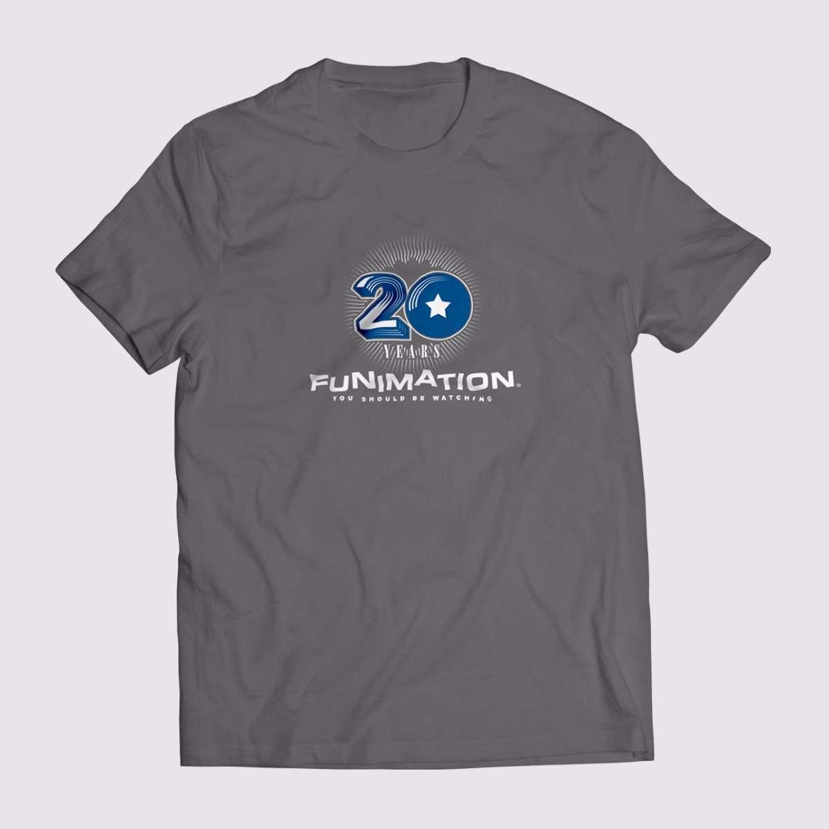 20th Anniversary T-Shirt apparel