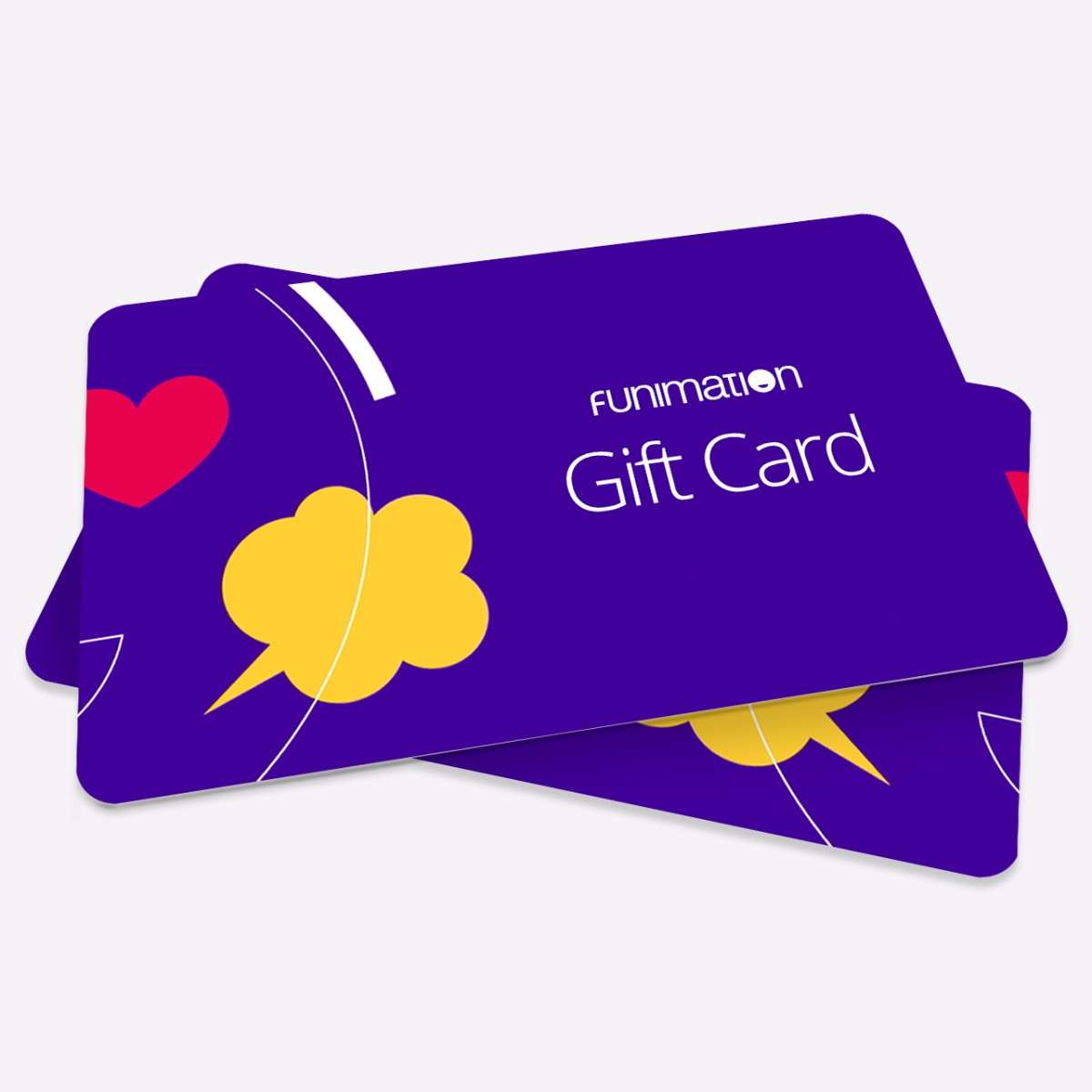 Funimation Gift Card Accessories