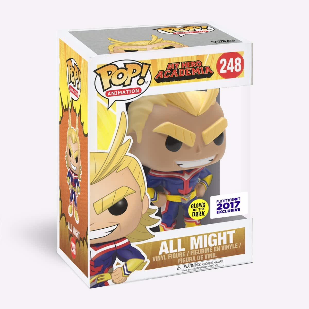 Funko Pop - All Might (Glow in th... Figures & Collectibles