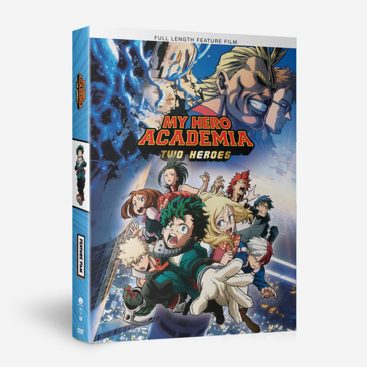 Shop My Hero Academia Two Heroes Dvd Funimation