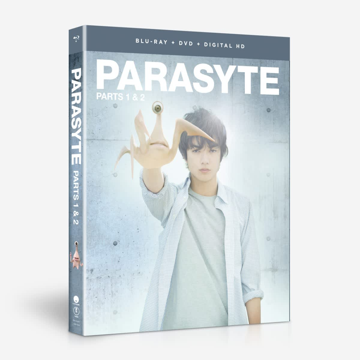 Parts 1 & 2 - Live Action - BD/DVD Combo + Digital home-video