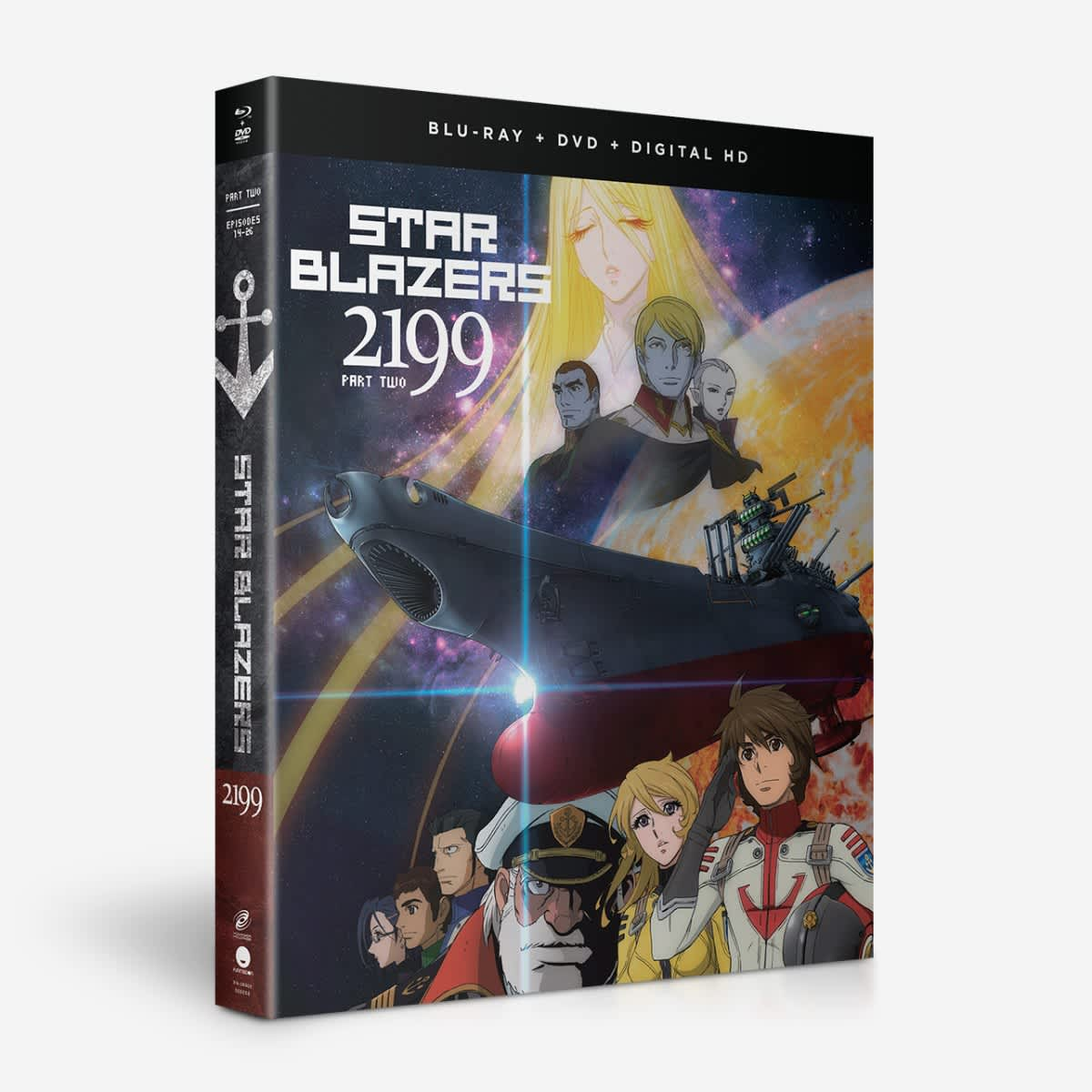 Star Blazers: Space Battleship Yamato 2199 - Part Two - BD/DVD Combo |  Home-Video