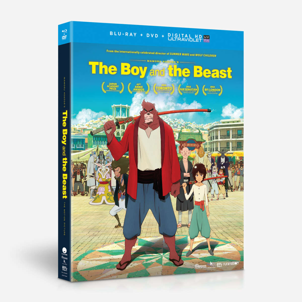 Stream & Watch The Boy And The Beast Episodes Online - Sub & Dub