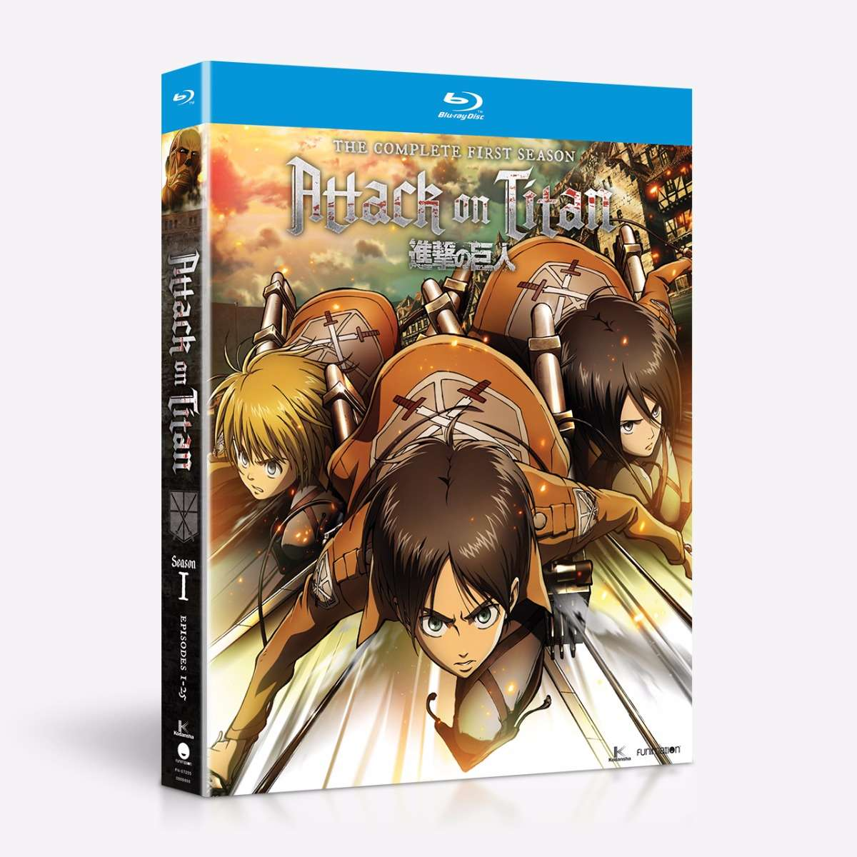 Shop Attack On Titan Complete Season One - BD