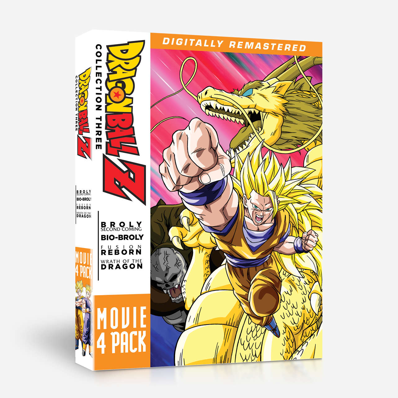 dragon ball z movie collection three movies 10 13 home video. Black Bedroom Furniture Sets. Home Design Ideas