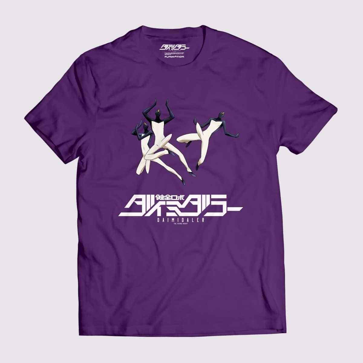 Daimidaler Prince Vs Penguin Empire T Shirt Purple