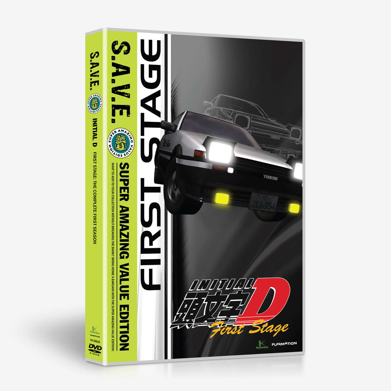 Initial D - First Stage: The Complete First Season