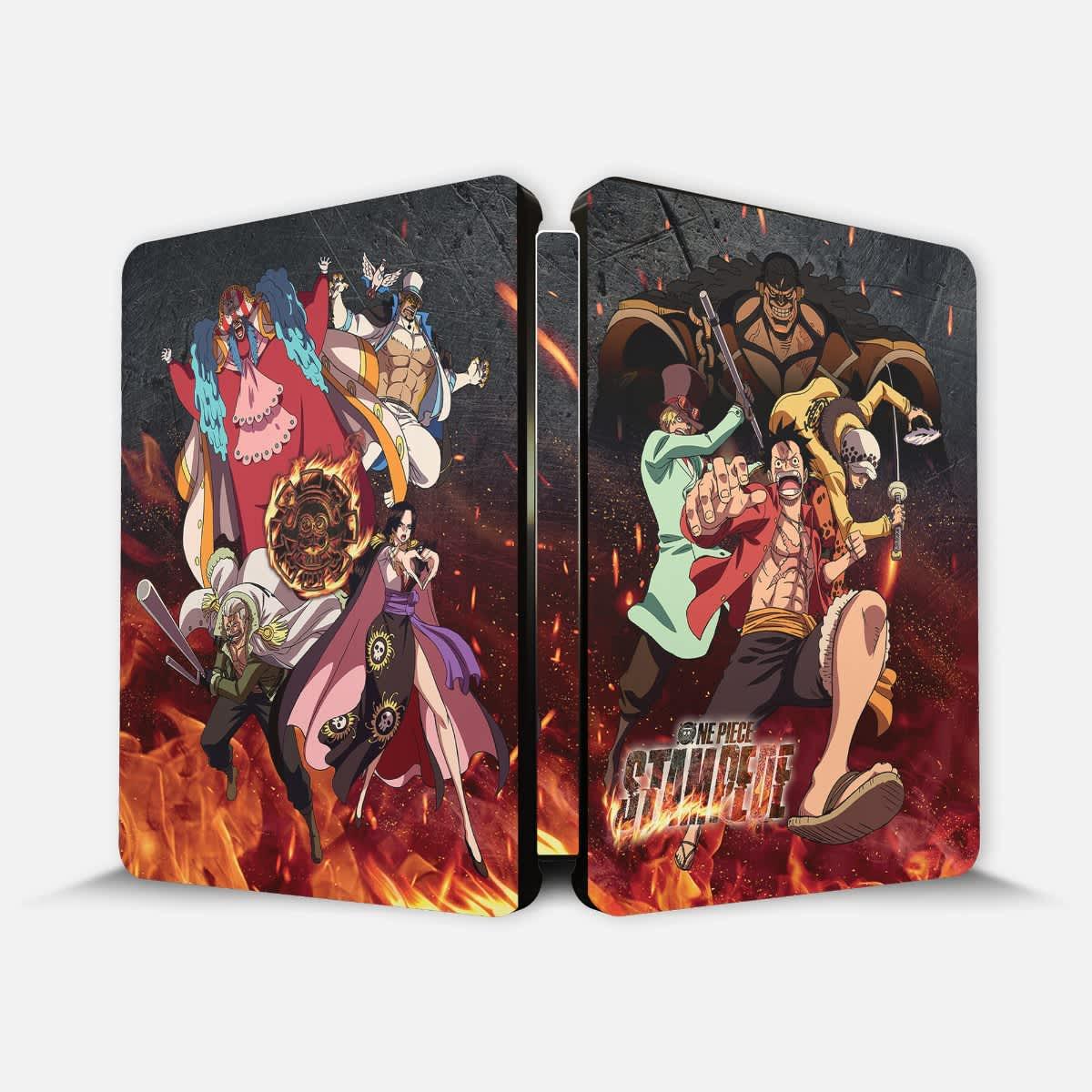 Shop One Piece Stampede - Movie - Steelbook - BD/DVD ...